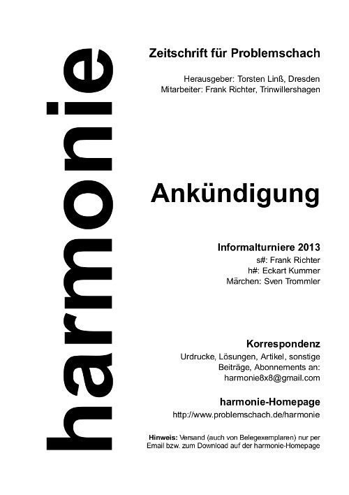 harmonie2013